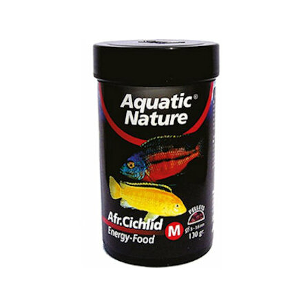 African Cichlide Energy Food M 130g, Aquatic Nature