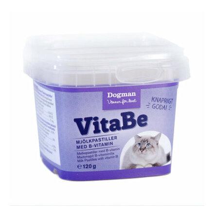 VitaBe Mjölkpastiller med B-vitamin 120g