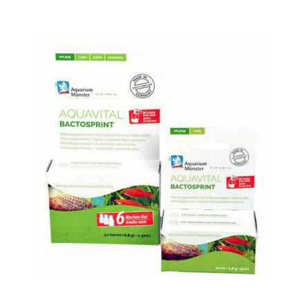 Aquavital Bactosprint microorganismer 3 x 10 ml + 0,8 g till 1500 L